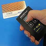 POCKETwork LEGIC® - mobile RFID Bluetooth read/write module